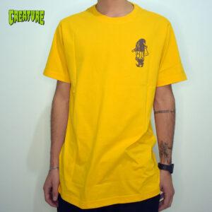 Camiseta Creature Collectitutioner | Amarelo - GG