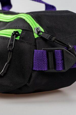 Shoulder Bag Prison ''Purple and green''